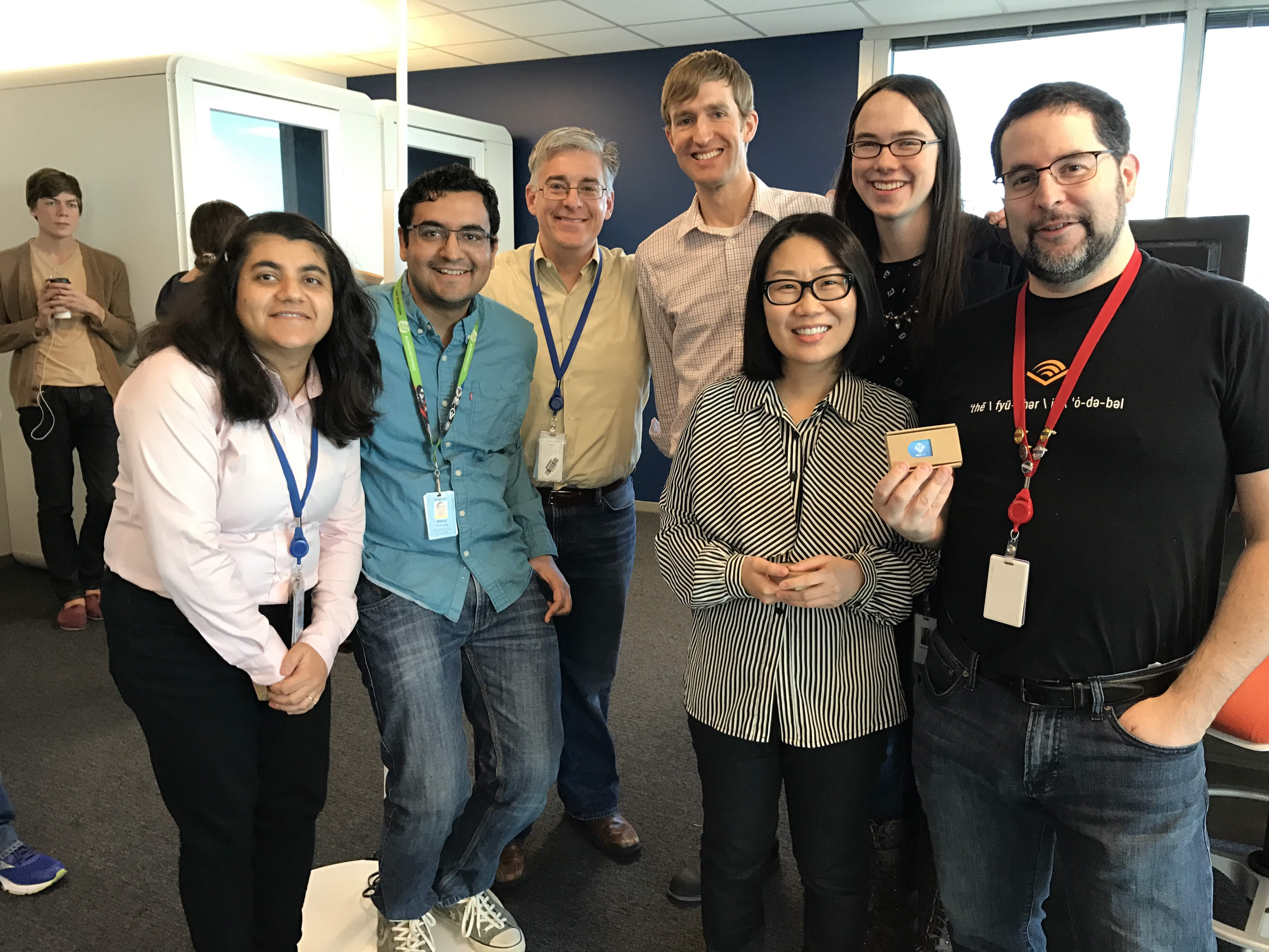 Audible Education Team hackathon photo