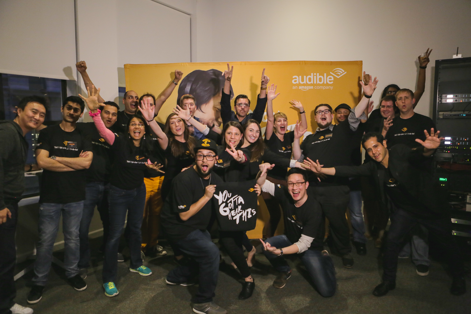 Team Audible at the Hackathon